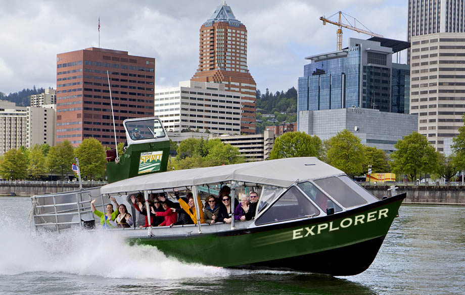 The Explorer in Downtown Portland