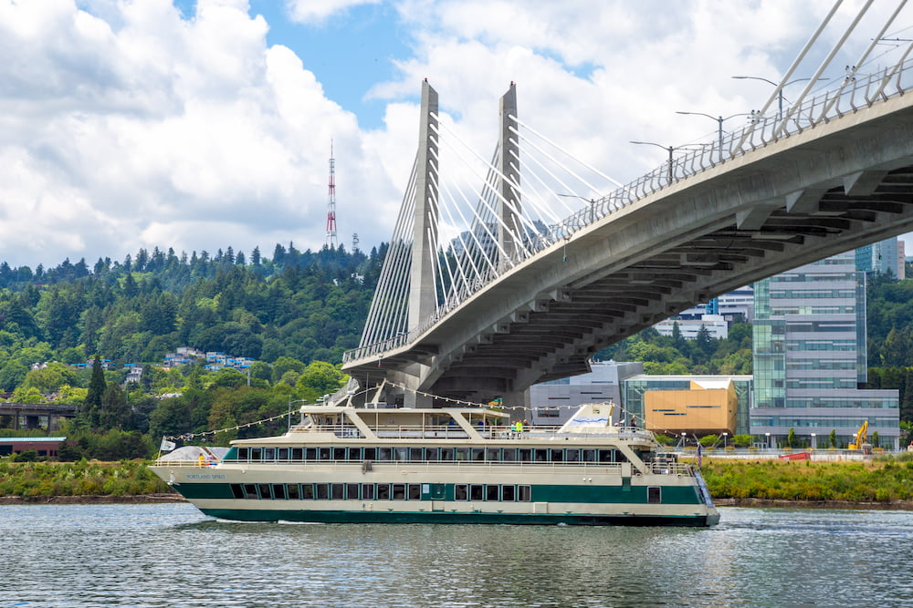 Portland Spirit Under the Tilikum