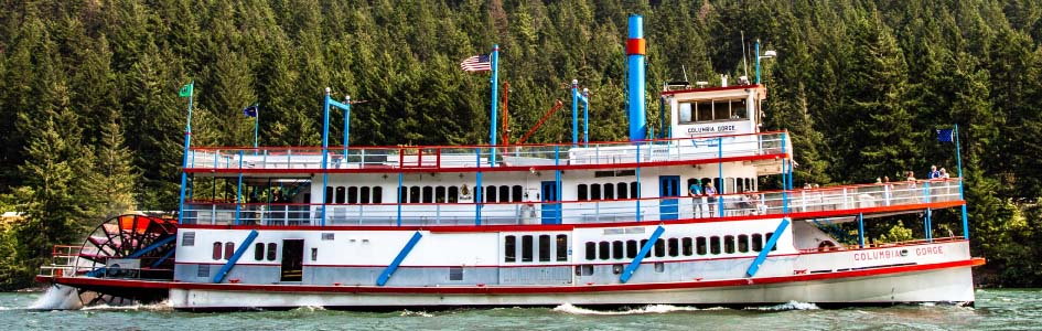 The Columbia Gorge Sternwheeler